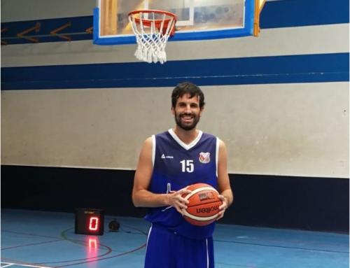 Asier de la Iglesia, en lo más alto del basket español y luchando contra la Esclerosis Múltiple